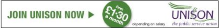 Join UNISON from £1.30 a month depending on salary