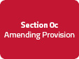 Section 0c: Amending Provision