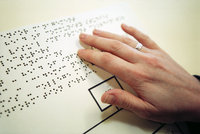 Reading Braille text