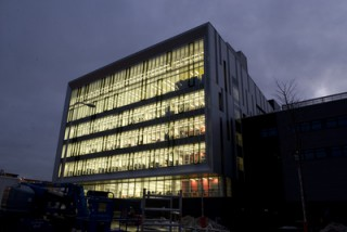 Image of Sighthill Campus at Night